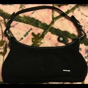 The sack mini crochet purse Euc